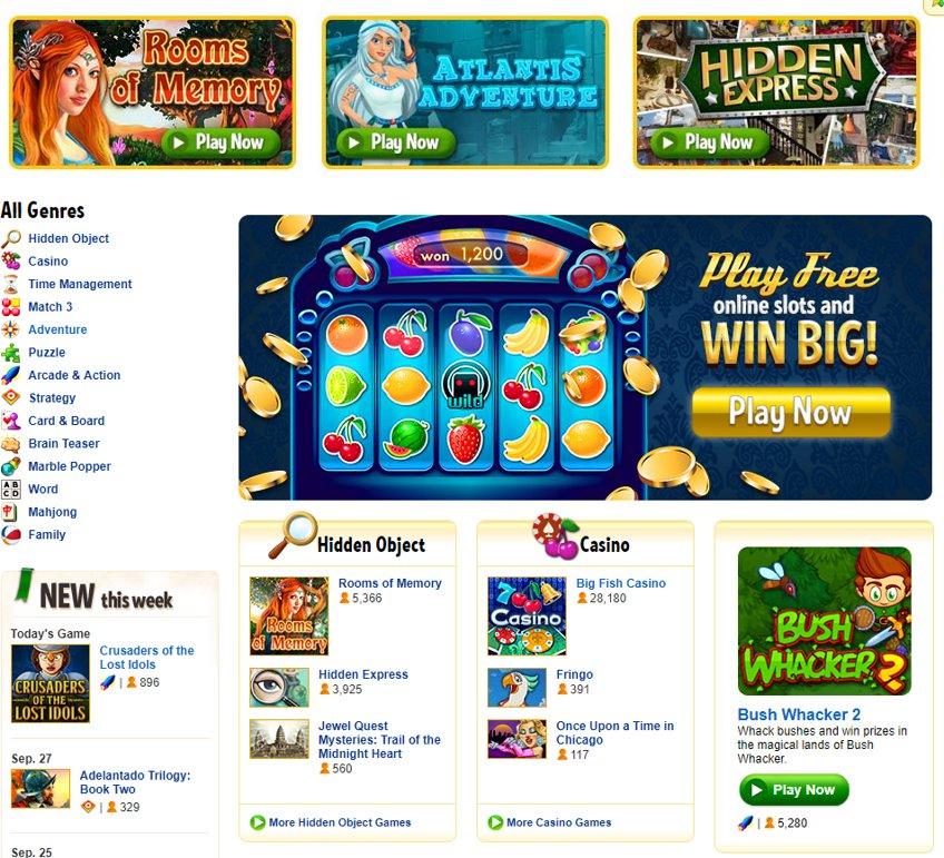 Big fish casino game killer