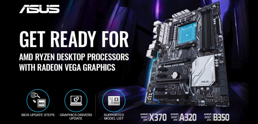 Asus and Asrock Launched Bios Support for Amd Ryzen 2000